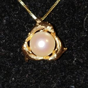 Jewelry - Akoya Pearl Pendant and Chain